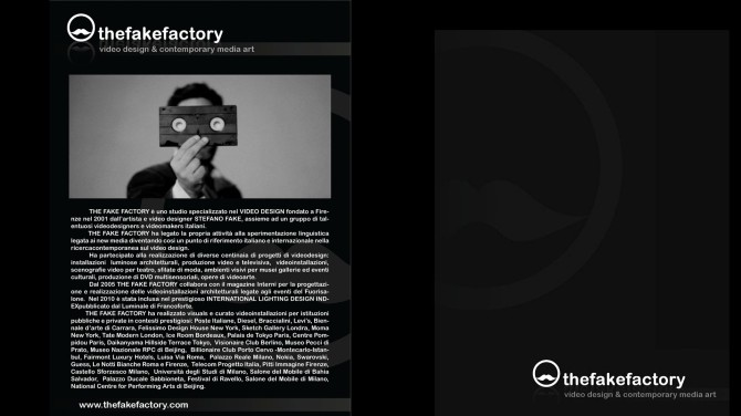 THE FAKE FACTORY #videoDESIGN 169