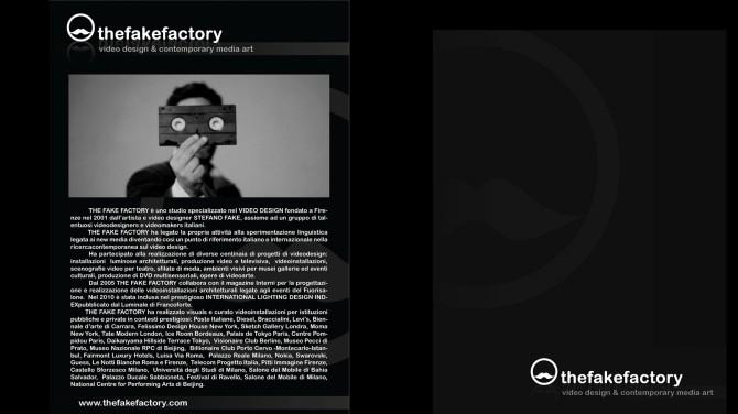 THE FAKE FACTORY #videoDESIGN 169