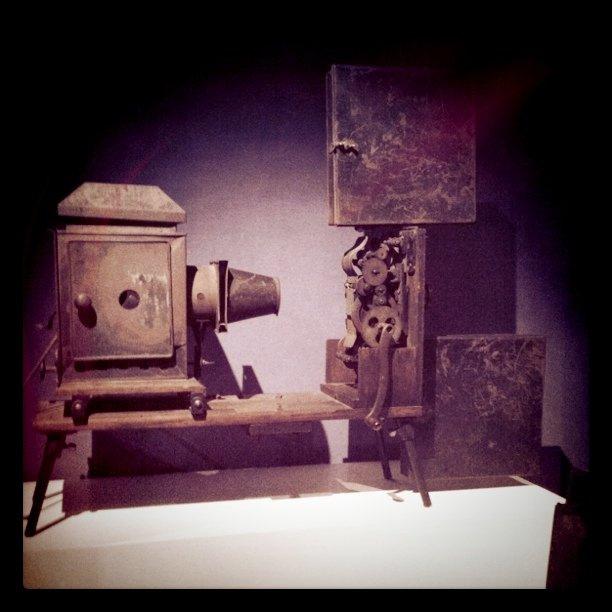 Edison Kinetoscope 1897 HOME PROJECTOR