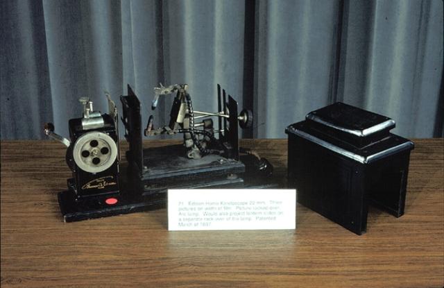 Edison Kinetoscope 22mm