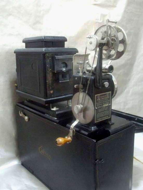 Edison Kinetoscope HOME PROJECTOR