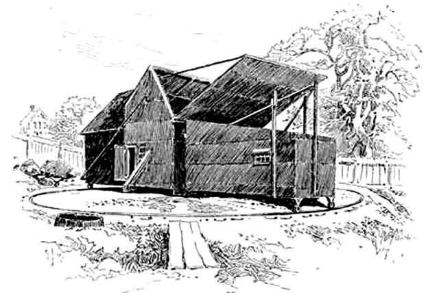Edison's Black Maria Studio, West Orange NJ