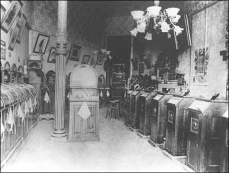 Kinetoscope parlor SF 1895