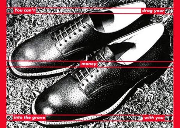 Barbra Kruger Shoes
