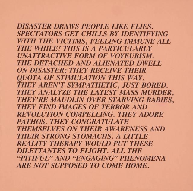 [no title] 1979-82 by Jenny Holzer born 1950